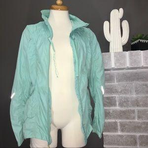 MPG Mondetta Jackets & Coats - Tiffany blue windbreaker